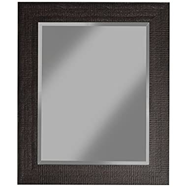 Sandberg Furniture 18817, 36  x 30  Wall Mirror, Espresso
