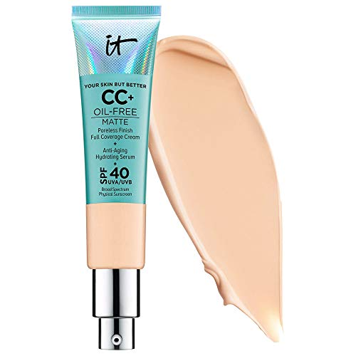 IT COSMETIC Your Skin But Better CC Cream Oil-Free Matte with SPF 40 (Light Medium)