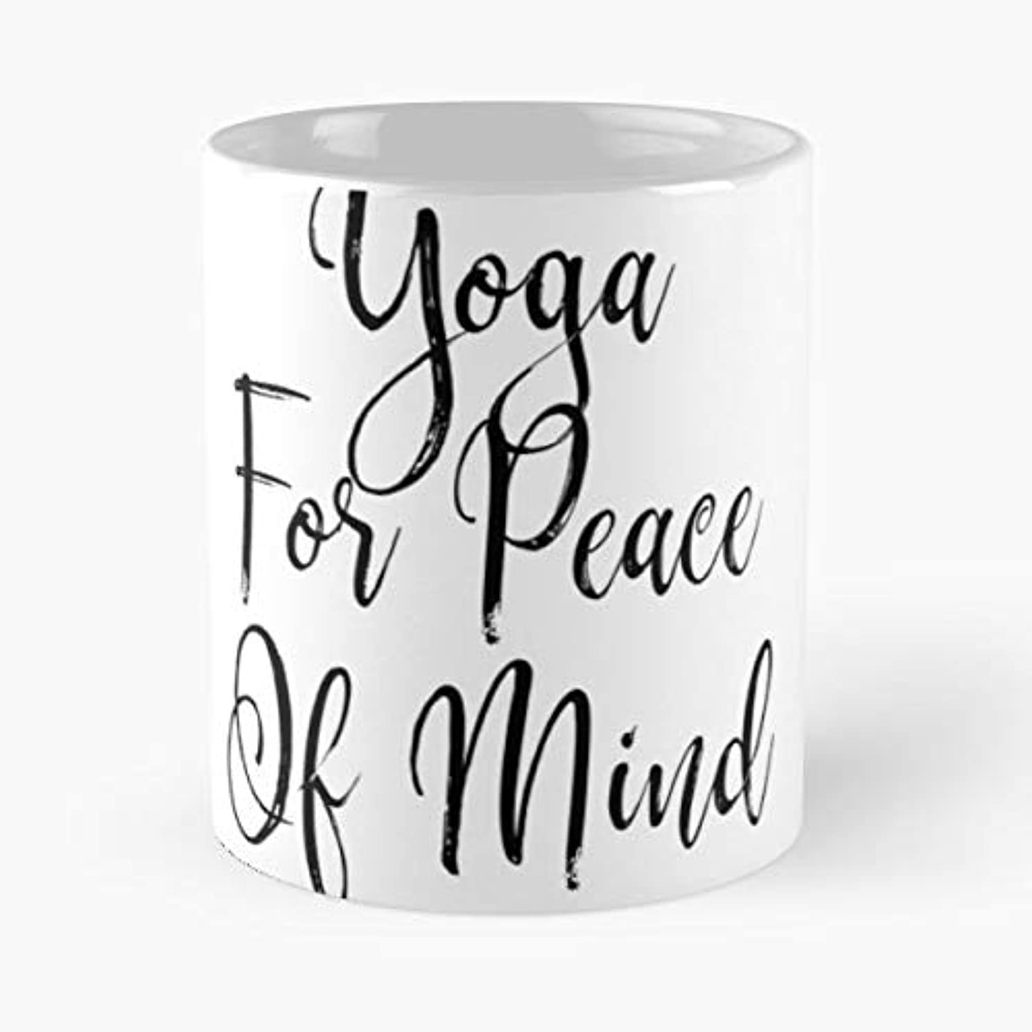 Funny Yoga Gift Cool T Shirt Namaste Quotes - 11 Oz Coffee Mugs Ceramic The Best For Holidays, Item Use Daily