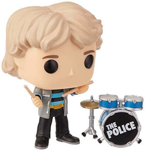 Pop! Figura de Vinilo: Musica: The Police - Stewart Copeland