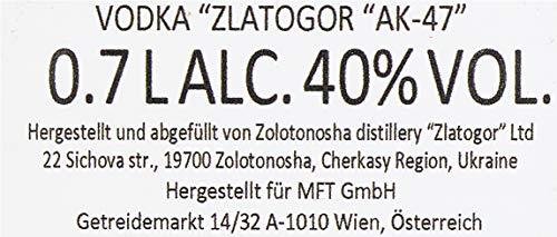 Zlatogor AK-47 Vodka Wodka (1 x 0.7 l) - 5