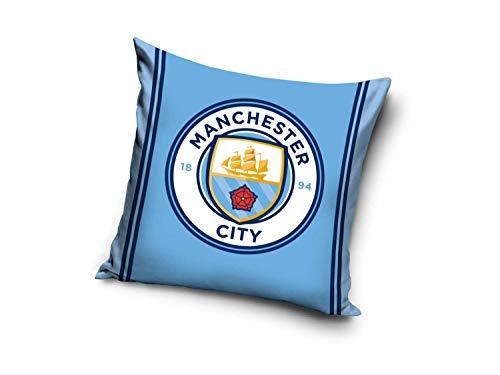 Manchester City kussen (gevuld) MCFC Citizens Fankussen kussensloop sierkussen