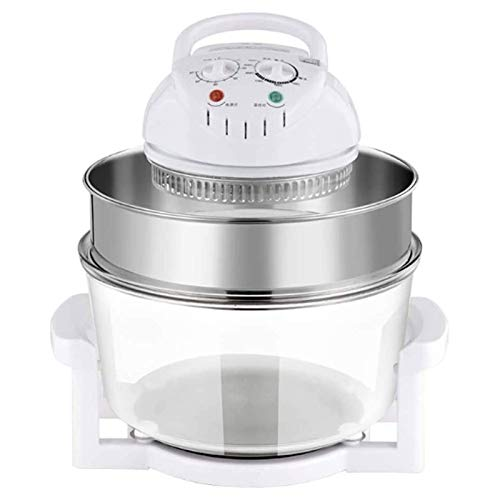YWYW Air Fryers Deep Fryers, with Extension Ring - 60 Minute Timer with Self Clean Function, Adjustable Temperature Control