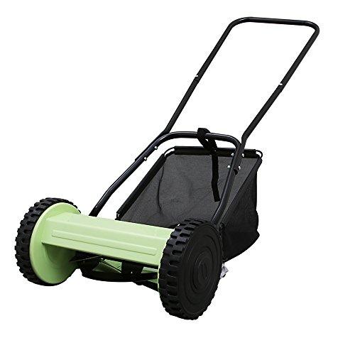 アイリスオーヤマ 芝刈り機 手動 小型 手動式芝刈り機 MLM-300 芝刈機 手押し 落ち葉集め 折りたたみ (7054645)