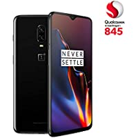 OnePlus 6T - Smartphone 8GB+128GB, color negro (mirror black)
