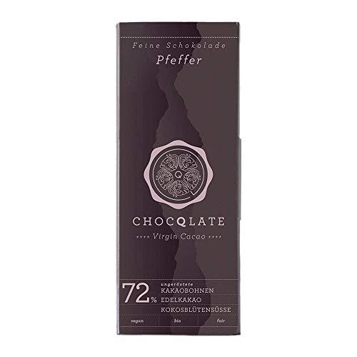 CHOCQLATE Reine Schokolade - Pfeffer 70g