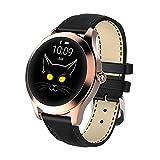 Gymqian Ip68 a Prueba de Agua Smart Watch Mujeres Preciosa Pulsera Monitor Monitor Monitoreo de Sueño Smartwatch Connect Ios Android Kw10 Banda, B Desgaste diario/C