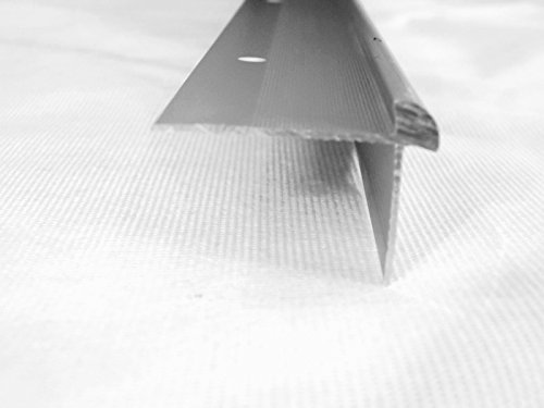 Aluminium Treppenkantenprofil Nr. 188 für Beläge 5mm, 250cm lang (silber)