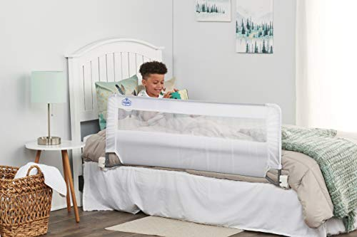 Regalo Swing Down 54-Inch Extra Long Bed Rail Guard, with...