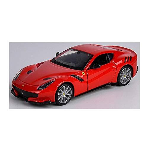BWHM Modelo De Coche Famoso 1:32 para Ferrari F12TDF Coche Deportivo Modelo de automóvil de Alta imitación Modelo Metal Modelo Modelo de Juguete Regalo Simulado Alloy Collection (Color : 10)