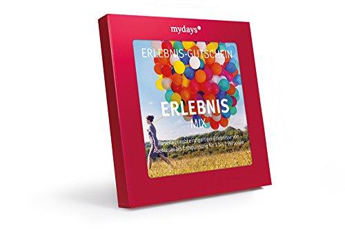 mydays Erlebnis-Gutschein Erlebnis-Mix, über 300 Erlebnisstandorte für 1 bis 2 Personen, Geschenk für Frauen und Männer in Geschenkbox