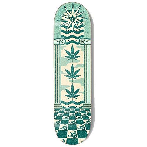 Darkstar Mirage Skateboard-Brett / Deck, 21 cm, Blaugrün
