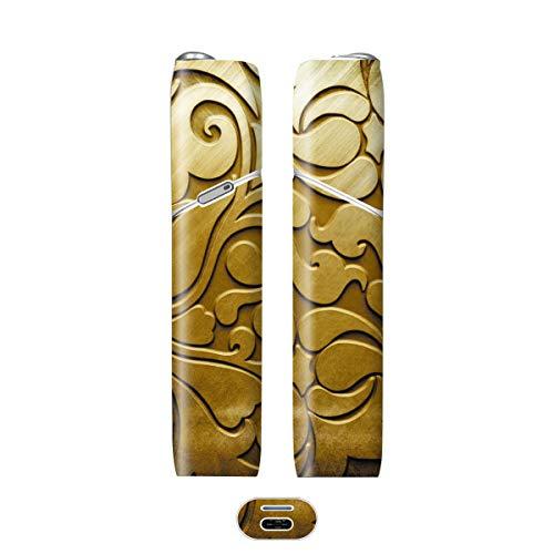 電子たばこ タバコ 煙草 喫煙具 専用スキンシール 対応機種 iQOS 3 MULTI アイコス 3 マルチ Metal (メタル) イメージデザイン 04 Metal (メタル) 01-iq07-0044