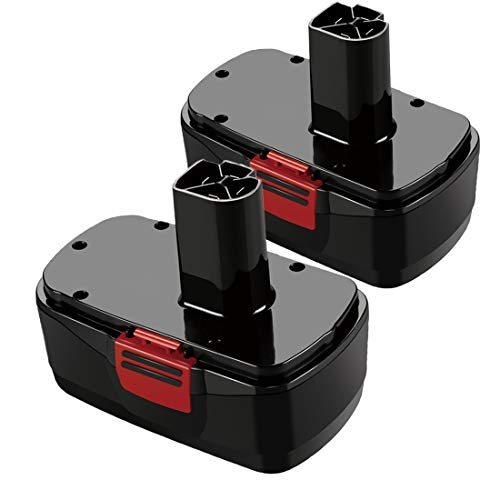 2 Pack 19.2 Volt C3 Replace for Craftsman 19.2 Volt Battery DieHard 130279005 1323903 11375 11376 120235021 315.115410 315.11485 Cordless Tools - 2 Pack