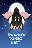 Oscar's TO-DO LIST: Simple Checklist Notebook, Journal Gift, 100 Pages, 6x9, Cover, Matte Finish.