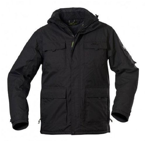 Owney Taraq Parka outdoor thermo jas dames jas & herenjas outdoor jassen unisex zwart XXS - XXL