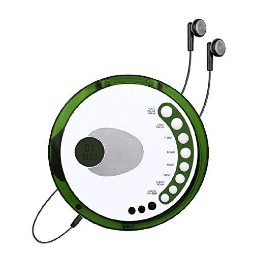 HHHKD ouderwetse CD Walkman, draagbare persoonlijke cd-speler met track programmeerbaar geheugen en oortelefoons, het beste cadeau voor kinderen