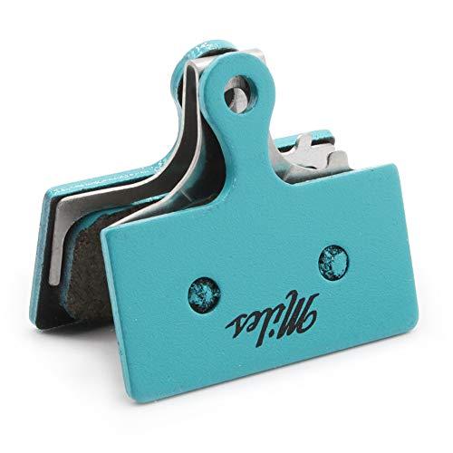 Miles Racing ® Scheibenbremsbeläge, semi metallisch für Shimano New XTR 2011, XT und SLX ab 2012, CX75 Mechanical