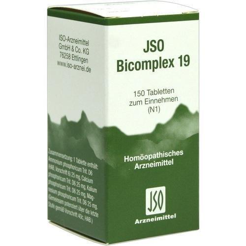 JSO BICOMPLEX HEILM NR 19 150St Tabletten PZN:545001