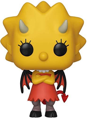 Funko - Pop! Animation: Simpsons - Lisa as Devil Figura De Vinil, Multicolor (39721)