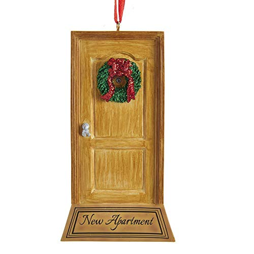 Kurt Adler 'New Apartment Door Ornament for Personalization