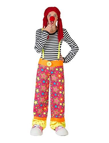 Pierro´s Kostüm Clown Hose Augustina Größe 40-42