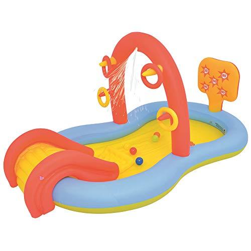 SJTL Piscina Inflable del Agua del balador de la Diapositiva del Agua con el Agua de la Diapositiva Larga, Las Piscinas inflables, Las Piscinas inflables para niños, la Piscina de la Familia