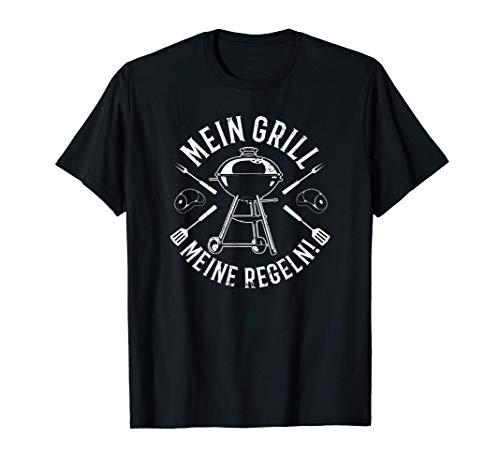 Mein Grill Meine Regeln - Grillsaison BBQ Grillchef Grillen T-Shirt