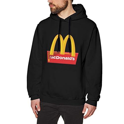 N / A Mcdonalds Herren Kapuzenpullover Langarm Baumwolle Bequem Und Weich Pullover T Shirt XL