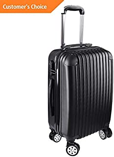 Amazon.com | Sandover 20 Carry On Travel gage Bag Trolley Fashion Suitcase ABS 360В° Rolling Wheel | Model LGGG - 12853 | | Carry-Ons