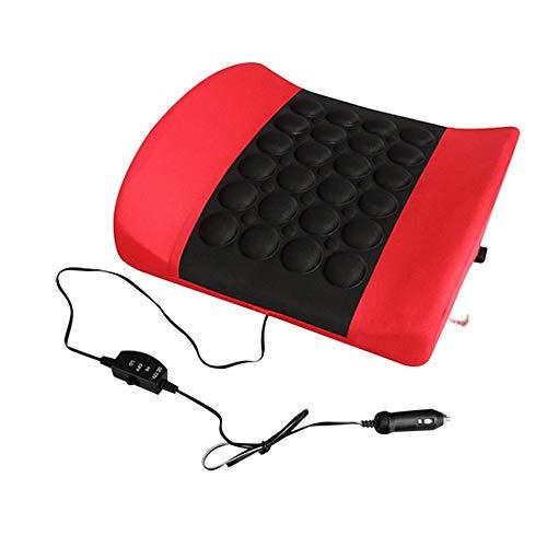 DSVBNM Auto-Kissen Elektro weichen Schwamm Waist Stützkissen Knochen Stimulieren die Zirkulation von Blut Kissen Car Styling