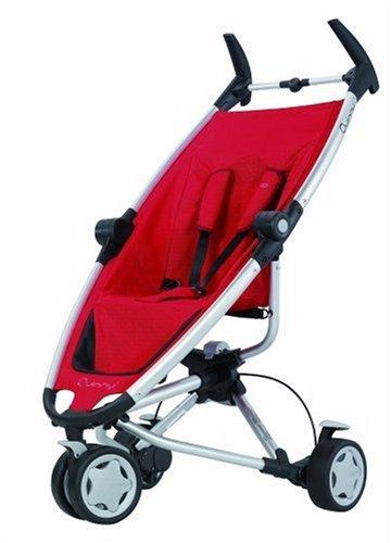 Quinny 65603030 - Zapp rebel red, inkl. Sonnendach, Regenverdeck, Reisetasche und Adapter für die Maxi-Cosi Babyschale