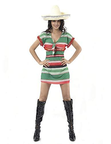 PARTY FIESTA Disfraz Mexicana Sexy (M)