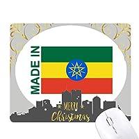 エチオピアカントリーラブに クリスマスイブのゴムマウスパッド