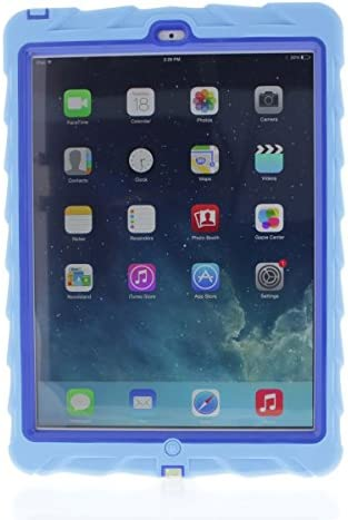 Apple iPad Air Drop Tech Light Blue Gumdrop Cases Silicone Rugged Shock Absorbing Protective product image