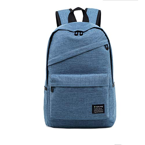Borse per Notebook e Accessori Outdoor Casual Traspirante Multi-Funzione Notebook Backpack Tablet (Nero) Ctj (Colore : Sky Blue)