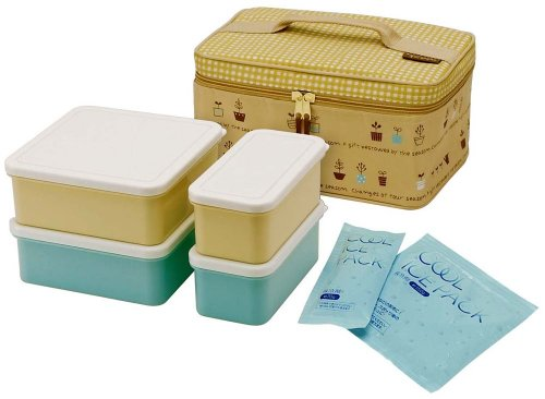 Natural gardens Cooler bag with picnic lunch set KCPC4 (japan import)