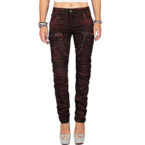 Cipo & Baxx Women's jeans trousers special designs.