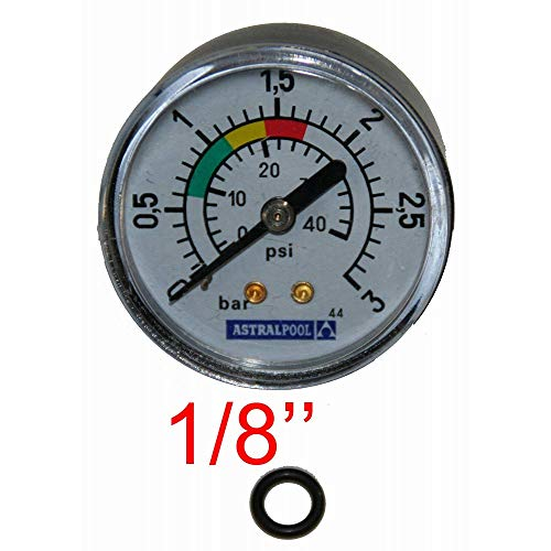 Astralpool Manometer, 1/8 Zoll, 3 kg/cm²