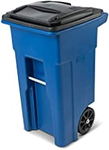 Toter 32 Gallon Trash Can (32 Gallon, Blue)