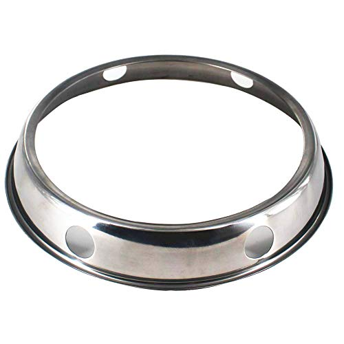 Wok Ring, stainless steel Wok Rack, 7¾-Inch and 9¾-Inch Reversible Size for Kitchen Use