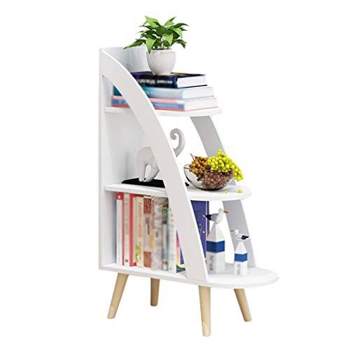 YULAN Chambre à Coucher Minimaliste Moderne Petite Table Basse Mini Salon Petit Appartement Table à thé Table carrée (Color : White)