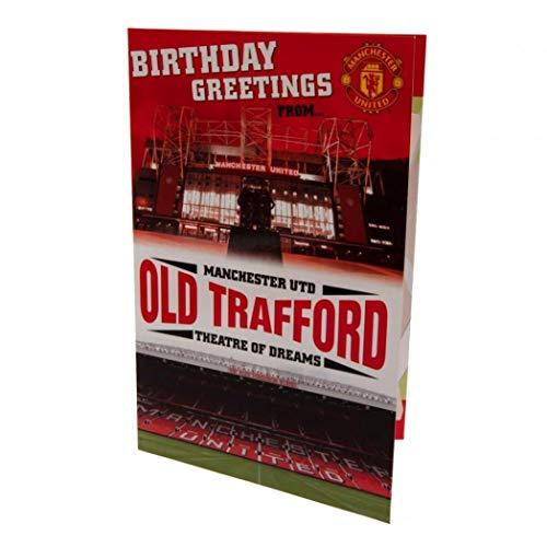 Manchester United FC Pop-Up verjaardagskaart
