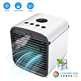 Onewell 2019 Portable Air Conditioner Fan,4 in1 Personal Mini Arctic Evaporative Air Cooler Desktop Cooling...