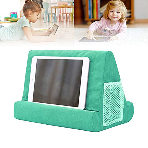 Soft Pillow for iPads,Phone Pillow Lap Stand Tablet Stand Pillow Holder,Used On Bed, Desk, Car, Sofa, Lap, Floor, Couch, Multi-Angle Soft Pillow