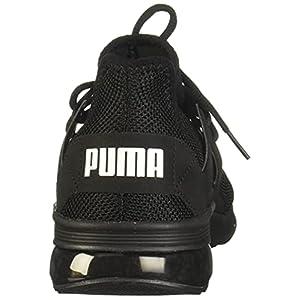 PUMA Men's Electron Street Sneaker, Black Black Black, 9.5 M US