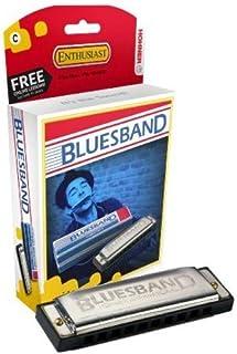 Hohner Accordions 1501Bx Blues Band, Harmonica, Chrome