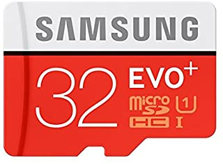 Samsung 32GB EVO Plus Class 10 Micro SDHC with Adapter 80mb/s (MB-MC32DA/AM) by Samsung