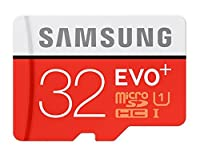 Samsung 32GB EVO Plus Class 10 Micro SDHC with Adapter 80mb/s (MB-MC32DA/AM) by Samsung
