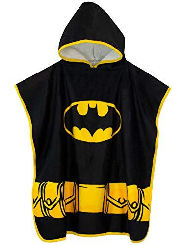 DC Comics Jungen Batman Kapuzenhandtuch Poncho